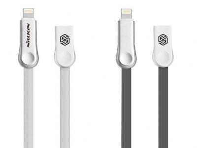 کابل دو سر میکرو یو اس بی و لایتنینگ نیلکین Nillkin Plus Ⅲ Cable Micro And Lightning