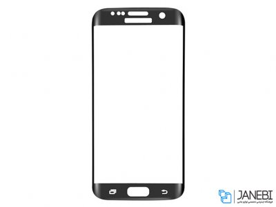 محافظ صفحه نمایش شیشه ای تمام صفحه سامسونگ Glass Samsung Galaxy S6 Edge Plus