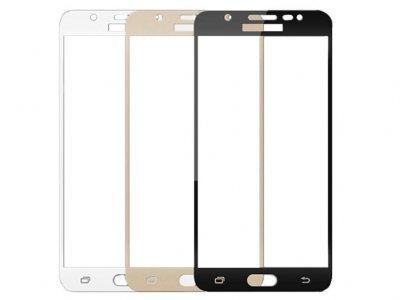 محافظ صفحه نمایش شیشه ای تمام چسب سامسونگ RG 3D Glass Samsung Galaxy J5 Prime