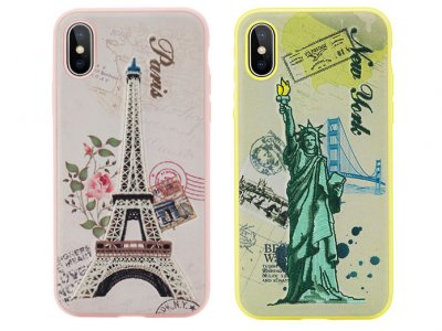 قاب محافظ راک آیفون RockSpace Great City Series Embroidery Case Apple iPhone X