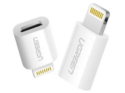 مبدل لایتنینگ به میکرو یو اس بی یوگرین Ugreen US164 Lightning to Micro USB Adapter