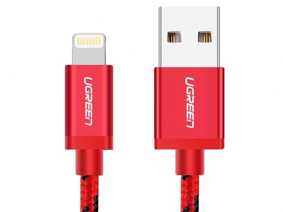 کابل لایتنینگ به یو اس بی یوگرین Ugreen US247 40479 MFi Lightning Cable 1M