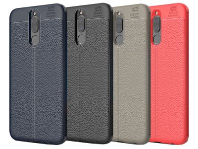 قاب ژله ای طرح چرم هواوی Auto Focus Jelly Case Huawei Mate 10 Lite