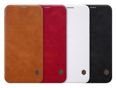 کیف چرمی نیلکین سامسونگ Nillkin Qin Leather Case Samsung Galaxy C7 2017/ C8