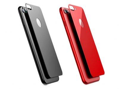محافظ شیشه ای پشت بیسوس آیفون Baseus 3D Silk Screen Back Glass Film Apple iPhone 7 Plus