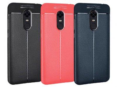 قاب ژله ای طرح چرم شیائومی Auto Focus Jelly Case Xiaomi Redmi 5 Plus/ Redmi Note 5