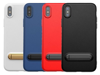 قاب محافظ بیسوس آیفون Baseus Happy Watching Supporting Case Apple iPhone X