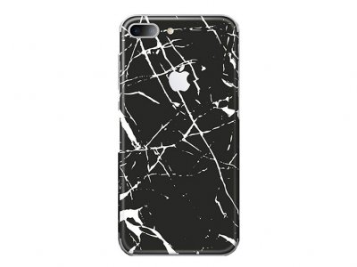 برچسب محافظ طرح دار راک آیفون Rock Black Marble Creative Protector Apple iPhone 7 Plus
