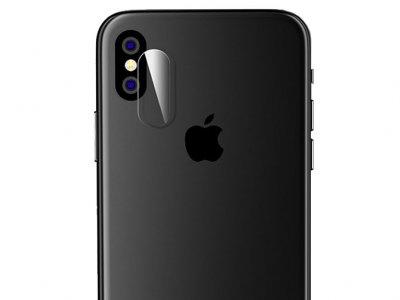 محافظ شیشه ای لنز دوربین آیفون Coteetci Camera Lens Glass iPhone X