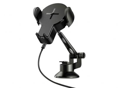 نگهدارنده و شارژر بی سیم راک Rock W2 Pro Car Wireless Charging Stand