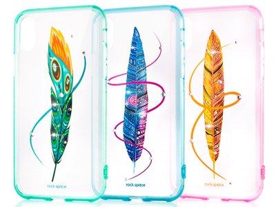 قاب محافظ راک آیفون Rock Feather Series Case Apple iPhone X