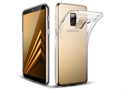 محافظ ژله ای 5 گرمی سامسونگ Samsung Galaxy A8 Plus 2018 Jelly Cover 5gr