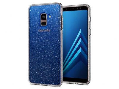 محافظ ژله ای اسپیگن سامسونگ Spigen Liquid Crystal Glitter Case Samsung Galaxy A8 2018