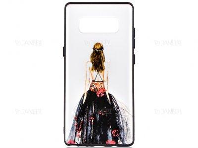 قاب محافظ سامسونگ طرح دختر XO+ Girl Case Samsung Galaxy Note 8