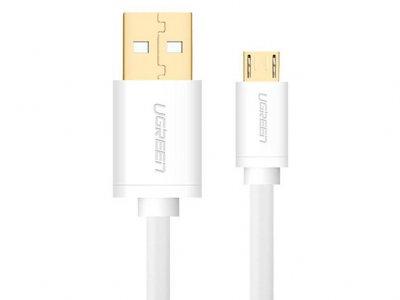 کابل شارژ و انتقال داده میکرو یو اس بی یوگرین Ugreen US125 Micro USB 2.0 Cable 2M