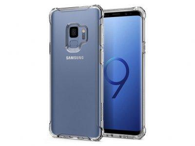 محافظ ژله ای اسپیگن سامسونگ Spigen Rugged Crystal Case Samsung Galaxy S9