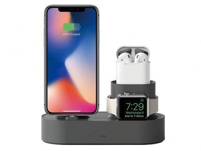 پایه شارژ آیفون ایرپاد و اپل واچ Elago Charging Hub for iPhone AirPods Apple Watch
