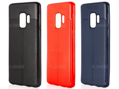 قاب ژله ای طرح چرم سامسونگ Auto Focus Jelly Case Samsung Galaxy S9