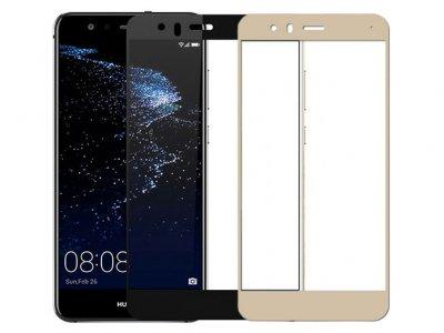 محافظ صفحه نمایش شیشه ای تمام چسب هواوی Full Glass Screen Protector Huawei P10 Lite
