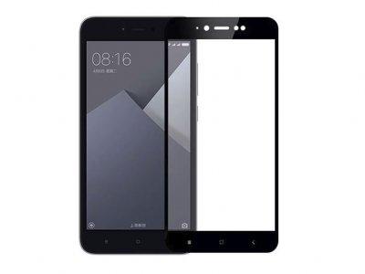 محافظ صفحه نمایش شیشه ای تمام چسب شیائومی Full Glass Screen Protector Xiaomi Redmi Note 5A Prime