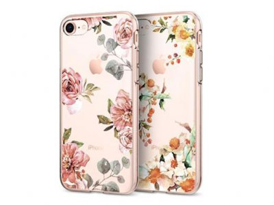 محافظ ژله ای اسپیگن آیفون Spigen Liquid Crystal Aquarelle Case Apple iPhone 8
