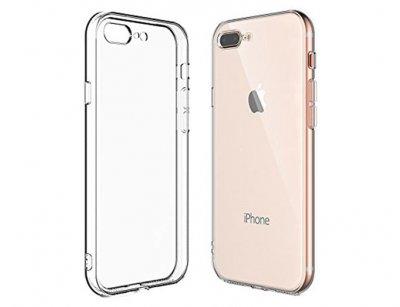 محافظ شیشه ای - ژله ای آیفون Apple iPhone 7 Plus / 8 Plus Transparent Cover