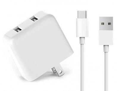آداپتور شارژ سریع و کابل تایپ سی شیائومی Xiaomi ZMI USB HA622