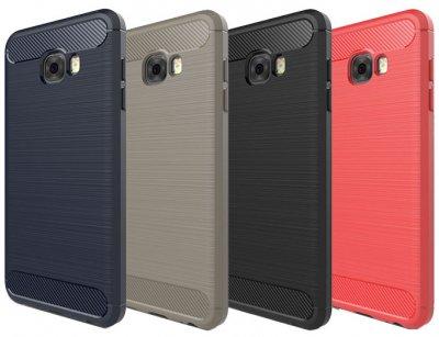 محافظ ژله ای سامسونگ Carbon Fibre Case Samsung Galaxy C7 Pro