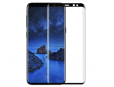محافظ صفحه نمایش شیشه ای سامسونگ Buff Full Glass Samsung Galaxy S9 Plus