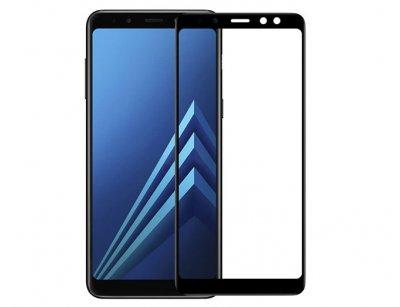 محافظ صفحه نمایش شیشه ای سامسونگ Buff Full Glass Screen Samsung Galaxy A8 2018