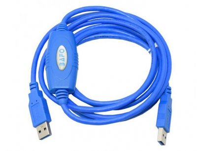 کابل دو سر یو اس بی نسخه 3.0 بافو BAFO USB 3.0 Transfer Cable BF-7330 2m