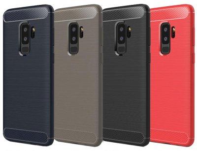 محافظ ژله ای سامسونگ Carbon Fibre Case Samsung Galaxy S9 Plus