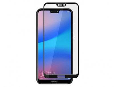 محافظ صفحه نمایش شیشه ای تمام چسب هواوی Full Glue Glass Huawei P20 Lite