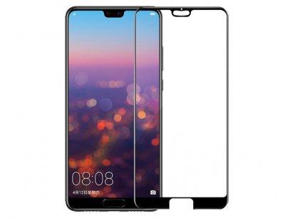 محافظ صفحه نمایش شیشه ای تمام چسب هواوی Full Glue Glass Huawei P20