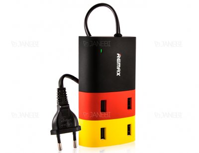 پاور هاب 4 پورت ریمکس Remax 4 Port USB Hub Charger