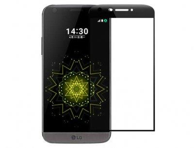 محافظ صفحه نمایش شیشه ای تمام صفحه ال جی Full Glass LG G5