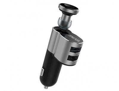 شارژر فندکی و هندزفری بلوتوث ولتاژ Voltage VEB-02 Bluetooth Headset With Car Charger