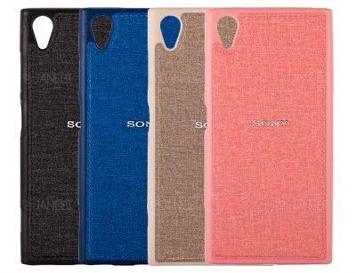 قاب محافظ طرح پارچه ای سونی Protective Cover Sony Xperia XA1 Plus