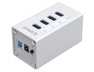 هاب یو اس بی 4 پورت اوریکو Orico 4 Port USB3.0 HUB A3H4
