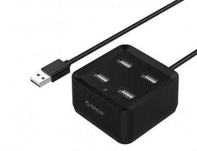 هاب یو اس بی 4 پورت اوریکو Orico 4 Port USB2.0 HUB DH4U-U2