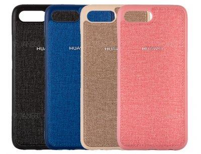 قاب محافظ طرح پارچه ای هواوی Protective Cover Huawei Honor 10
