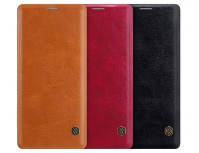 کیف چرمی نیلکین سامسونگ Nillkin Qin Leather Case Samsung Galaxy Note 9