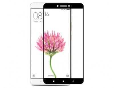 محافظ صفحه نمایش شیشه ای تمام چسب شیائومی Full Glass TT Screen Protector Xiaomi Mi Max 2