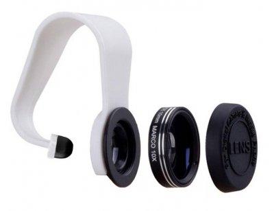 لنز واید و ماکرو گوشی موبایل مومکس Momax 2 in1 Universal ClipOn Lens