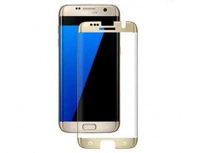 محافظ صفحه نمایش شیشه ای تمام صفحه سامسونگ Full Glass TT Screen SAMSUNG Galaxy S7 Edge