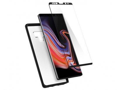 قاب و محافظ صفحه شیشه ای اسپیگن سامسونگ Spigen Ultra Hybrid 360 Case Samsung Note 9