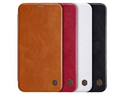 کیف چرمی نیلکین آیفون Nillkin Qin Leather Case iPhone XS Max