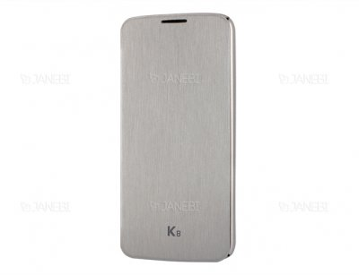 کیف اصلی ال جی Voia CleanUP Premium Flip Cover LG K8