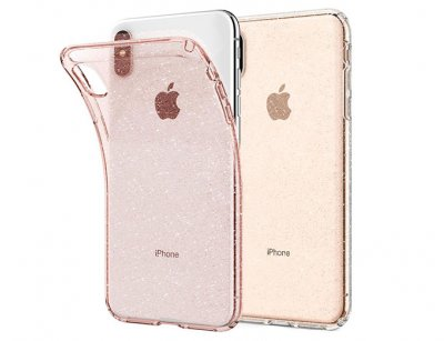 محافظ ژله ای اسپیگن آیفون Spigen Liquid Crystal Glitter Case Apple iPhone XS