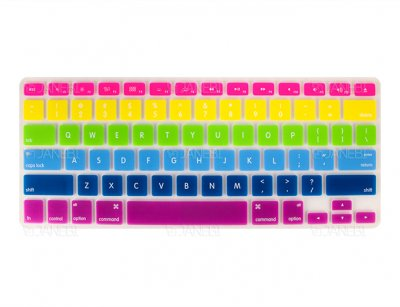 محافظ رنگی کیبورد مک بوک Keyboard Sticker Colorful MacBook 13.3